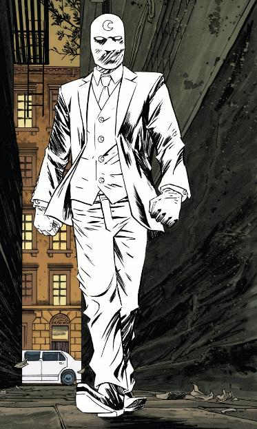 Moon Knight is so white (how white is he)