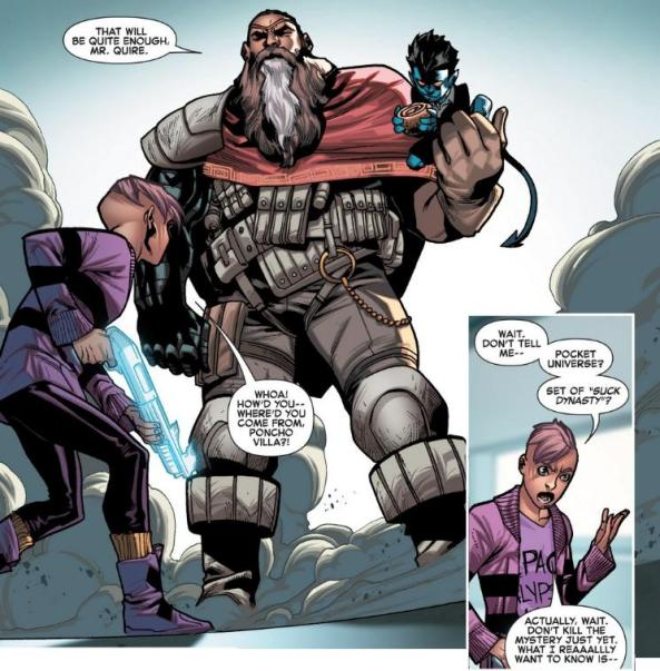Quentin Quire beats me to all the best jokes