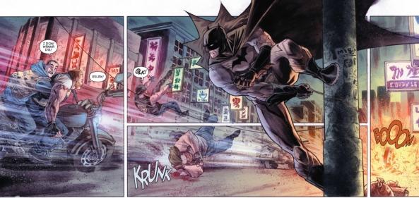 Batman on Wire