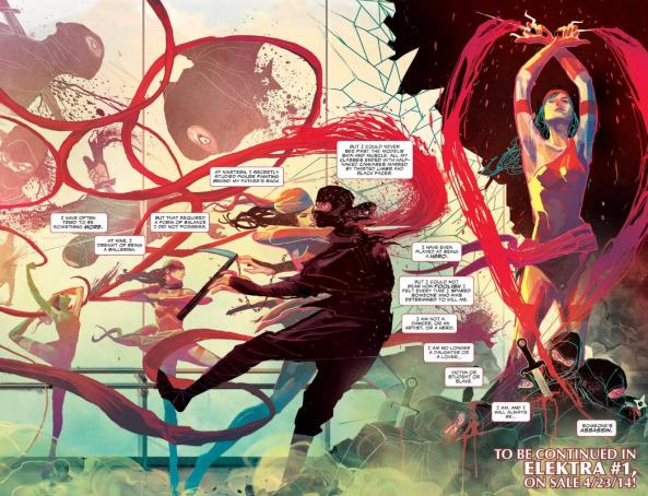 Catch all the action in Elektra #1