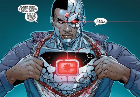 Cyborg, that's gross