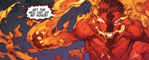 """""""Oh, THAT's where Johnny Storm's powers went!"""""""
