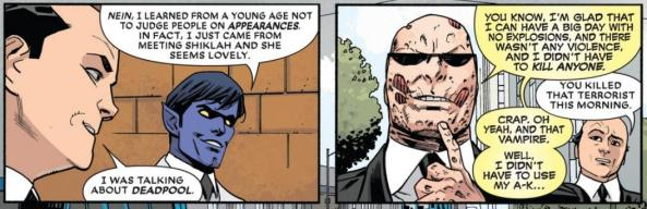 Deadpool Adsit and Nightcrawler