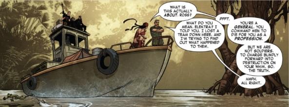 Elektra explains it all