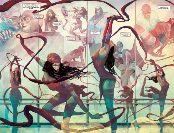 Elektra is not someone elses victim