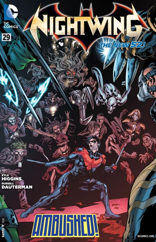 Nightwing 29 cover