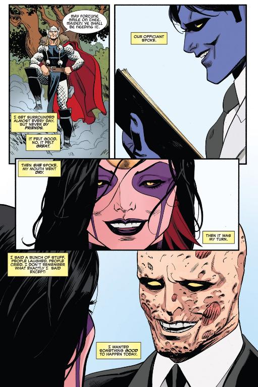 oh no Deadpool's giving me feels again