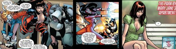 The Menagerie, Spider-Woman and MJ