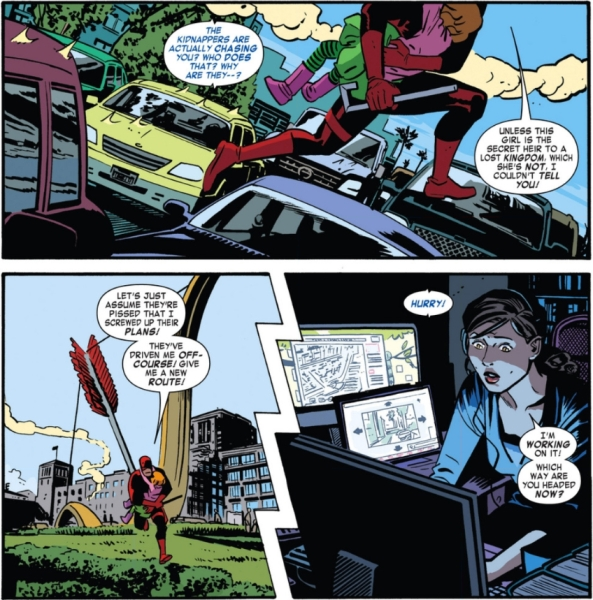 Daredevil 1 chase scene