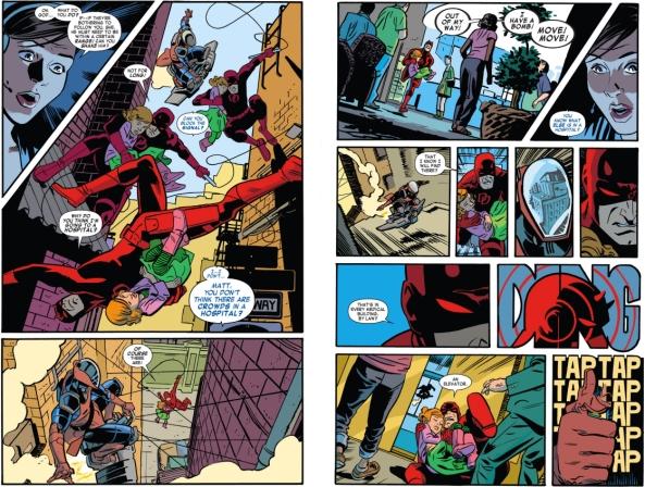Daredevil 1, Pulling a Spider-Man