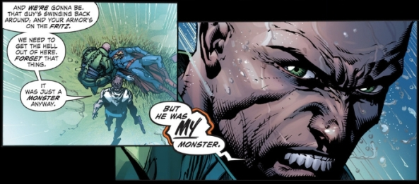he was all ours' monster, Lex