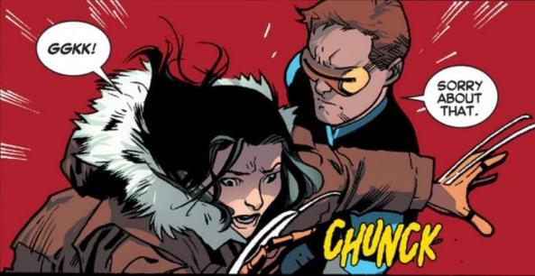 Raze attacks X-23