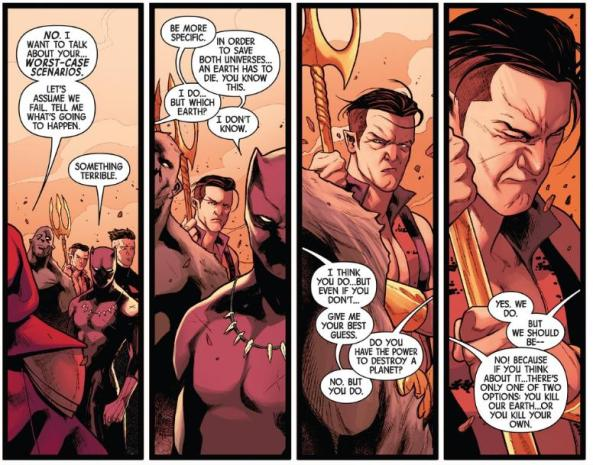 Namor is getting pissed