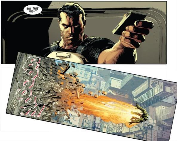 Punisher blows up Hulk