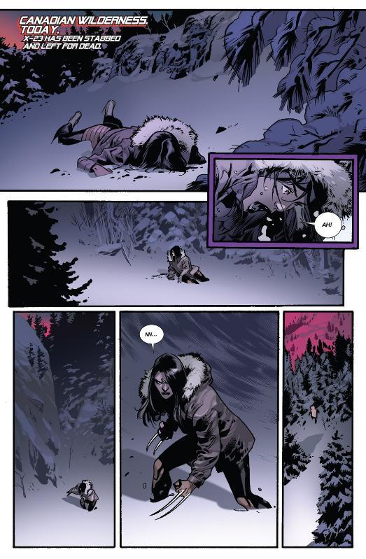 X-23 wakes up