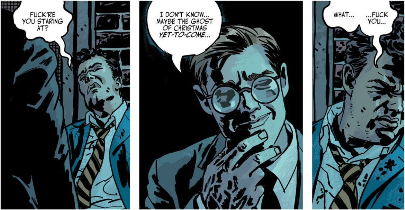 The Fade Out 1   Retcon Punch
