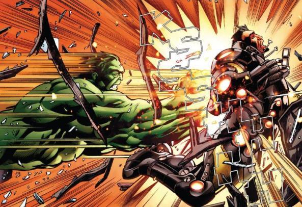 hulk vs. iron man