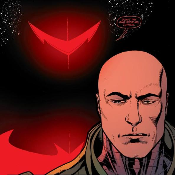 Lex Luthor and Hellbat