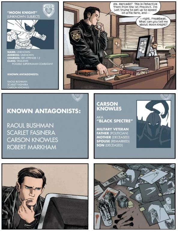Researching Moon Knight