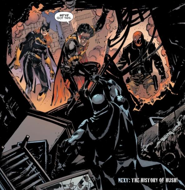 Batfamily to the rescue!
