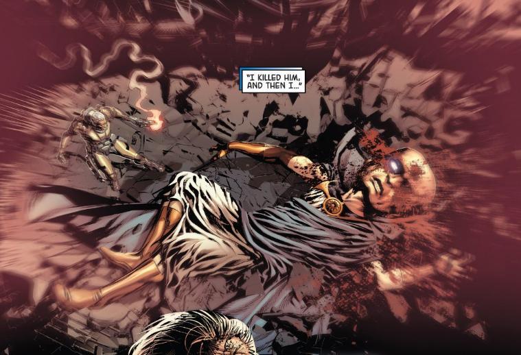 of Uatu s bloody eye hole   Uatu Dead