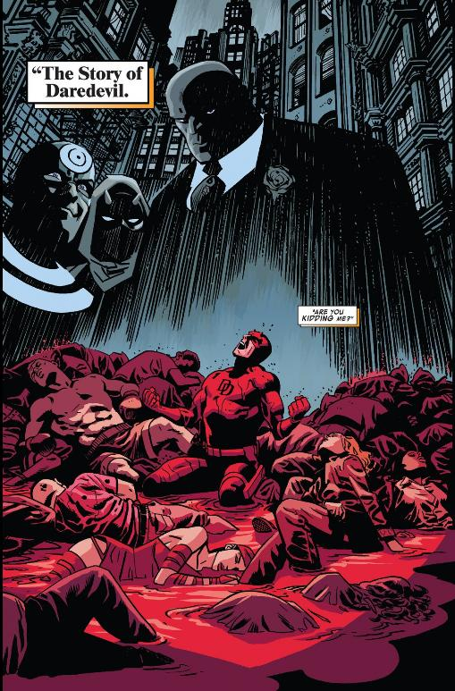 Daredevil feels bad