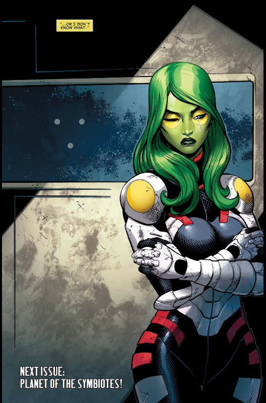 And thus Gamora cries