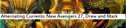 Alternating Currents: New Avengers 27, Drew and Mark