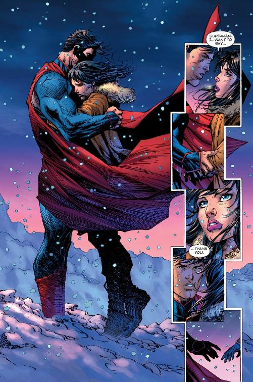 Superman says goodbye (for now)