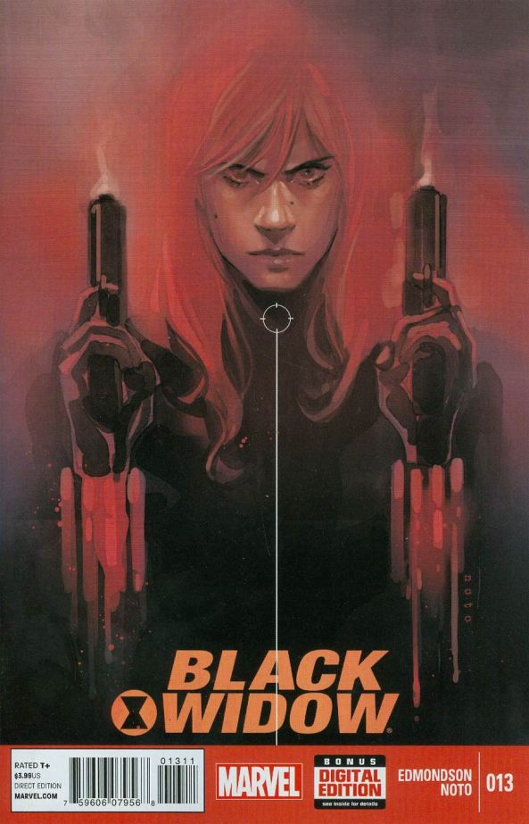Black Widow 13 Cover
