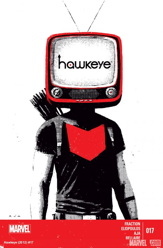 Hawkeye 17 Cover