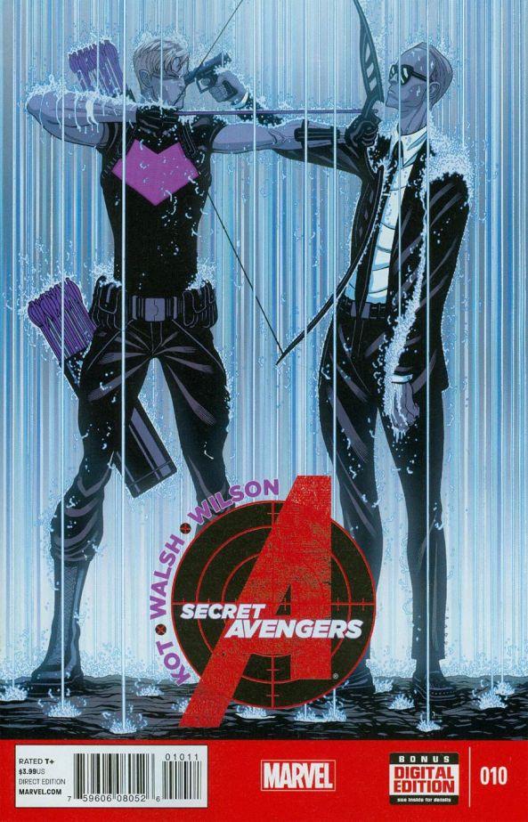 Secret Avengers 10 Cover