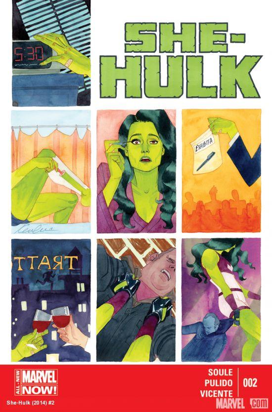 She-Hulk 2 Cover