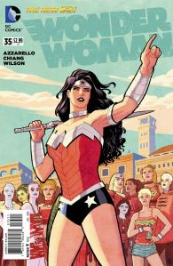 Wonder Woman 35 Cover