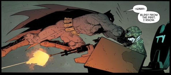 batman vs tank
