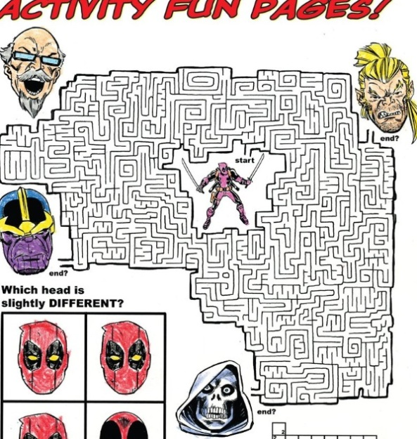 Maze of Deadpool