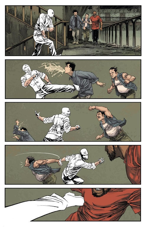 Moon Knight coming from the gutter to kick your ass