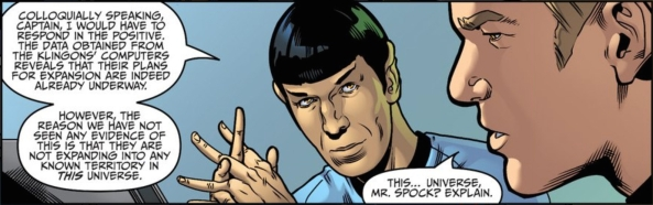 This...universe, Mr. Spock?