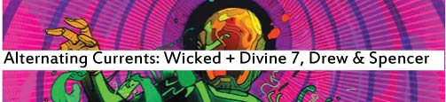 Alternating Currents: The Wicked and The Divine 7, Drew and Spencer
