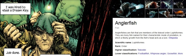 Anglerfish. I looked it up.
