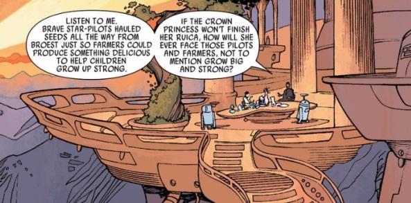 Alderaan is the legacy of Star Wars