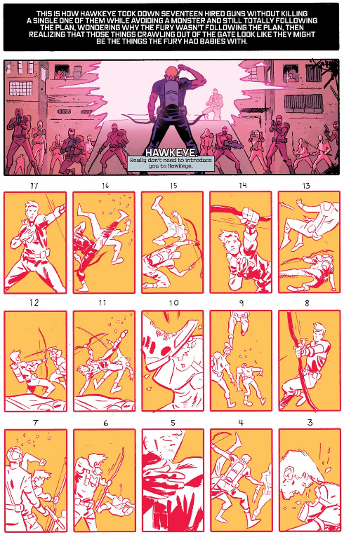 Hawkeye by numbers