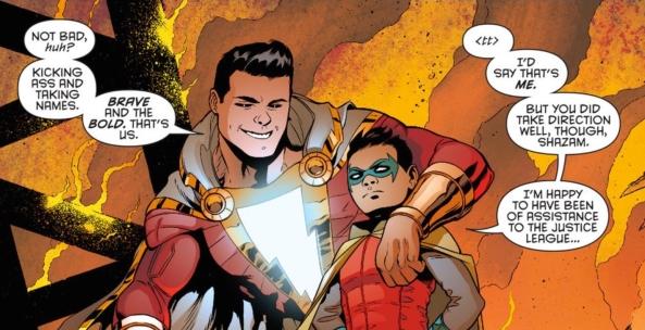 Shazam and Damian