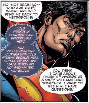 demanding Superman