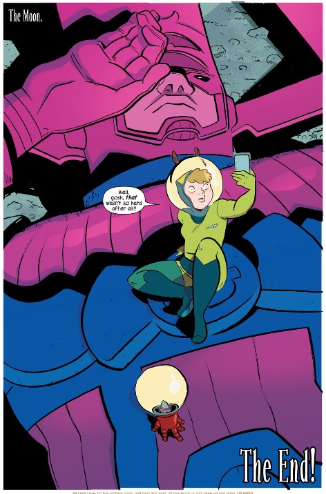 Galactus deafted by Squirrel Girl