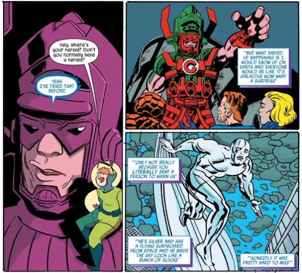 Galactus has a problem with heralds