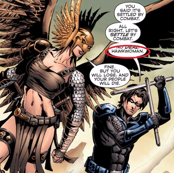 Hawk... girl ...woman