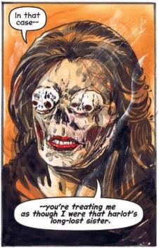 Resultado de imagem para chilling adventures of sabrina madam satan comic