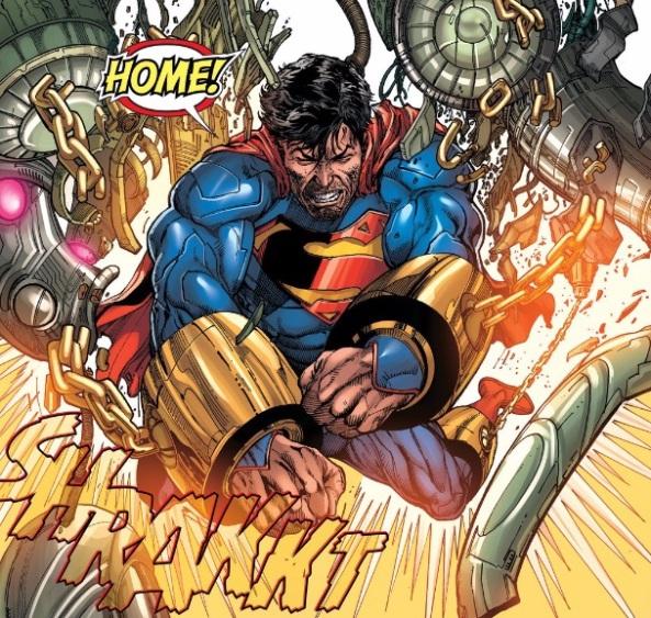 superman flexes better