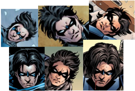 The Many Same Faces of Nightwing